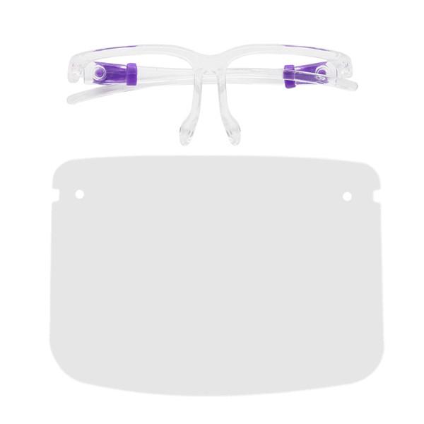 pin púrpura + Escudo