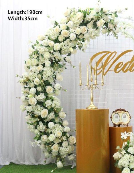 White 190cm flower