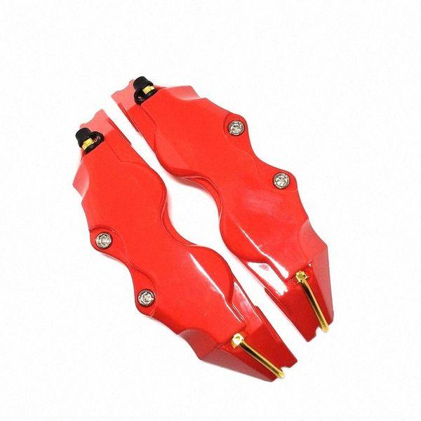 best selling Universal brake caliper cover , caliper cover front wheel and rear wheel , High performance brake 28cm one pair 3zDW#