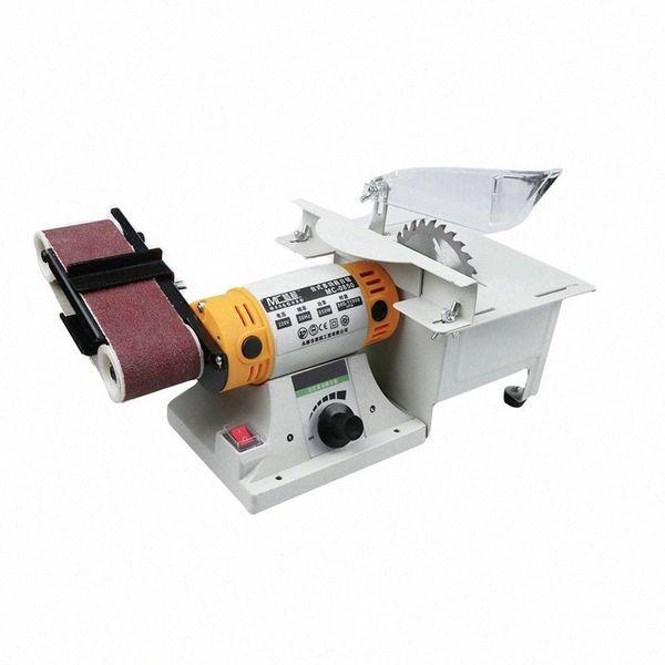 top popular Multifunctional Electric Sharpener Polisher Novice Small Grinding Machine Desktop Polisher Woodworking Metal Orbital PTc0# 2021
