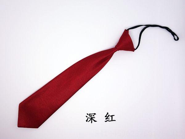 Rojo púrpura corbata ancha