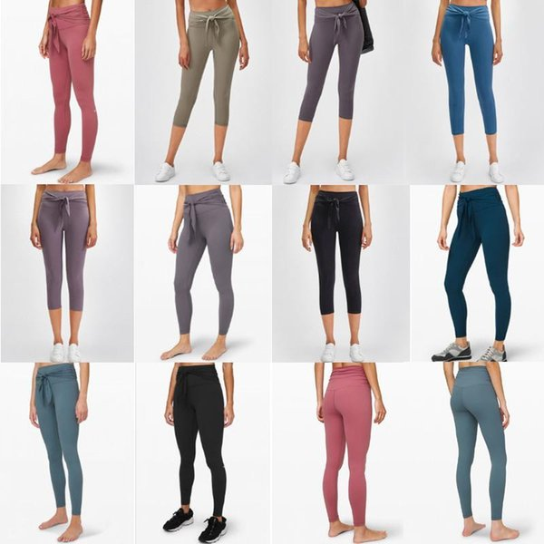 best selling Hot women Yoga Pants High Waist Sports Gym Wear Solid Color Breathable Stretch Tight Skinny Leggings Womens Athletic Joggers Pants b3zcfed7#