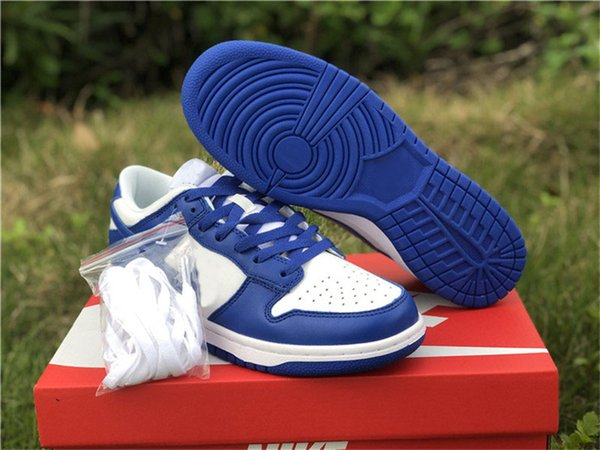 top popular 2021 Original Dunk SP Kentucky Low White Varsity Royal Outdoor Shoes Mens Womens SP Syracuse University Red Brazil Skateboard Shoes Sneakers 2021