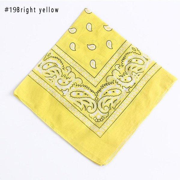 19 jaune vif