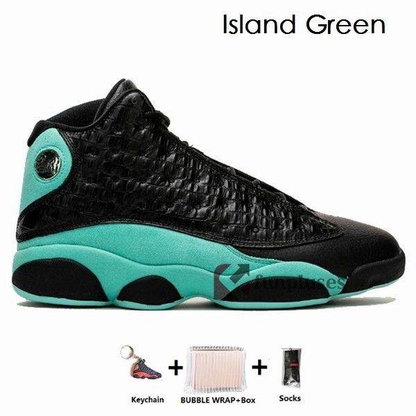 13s- Island Green