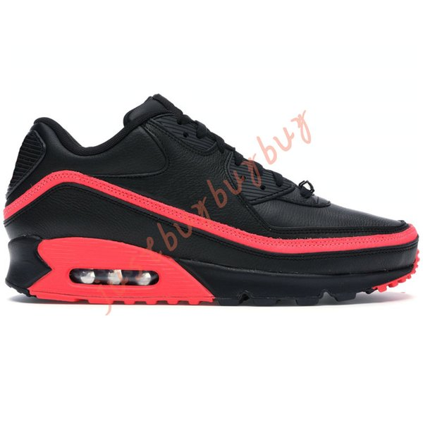 40-45 Undefeated Black Solar Red