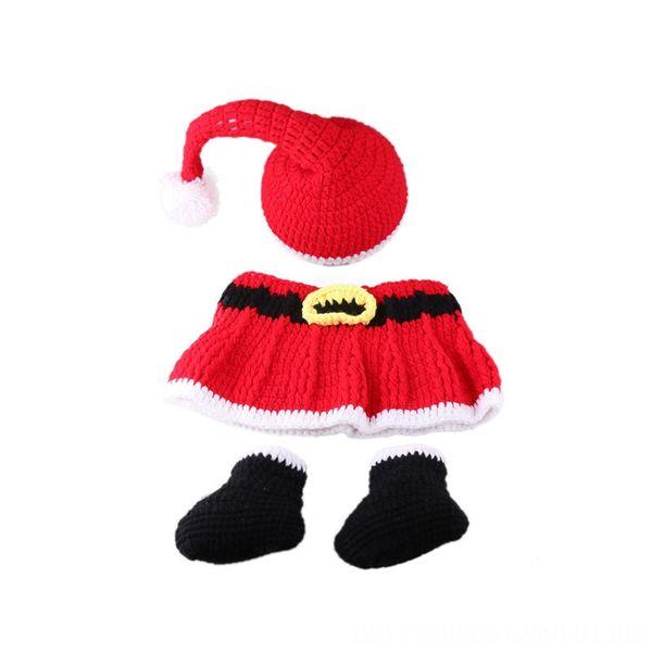 Three-piece Christmas Skirt