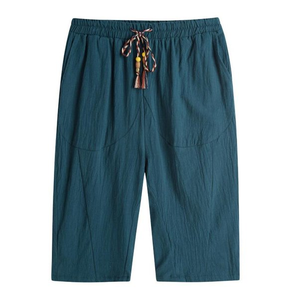 Verde pantaloni corti