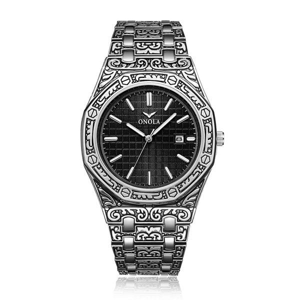On3812 Gümüş Siyah
