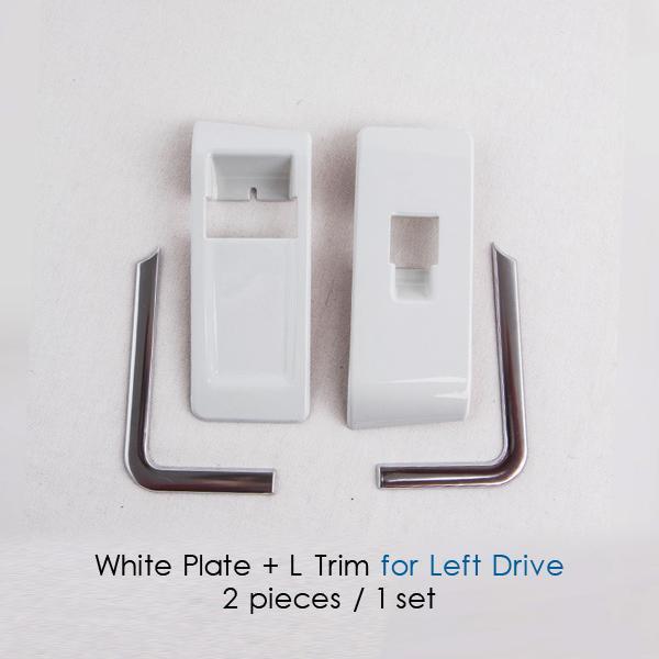 White plate L Trim