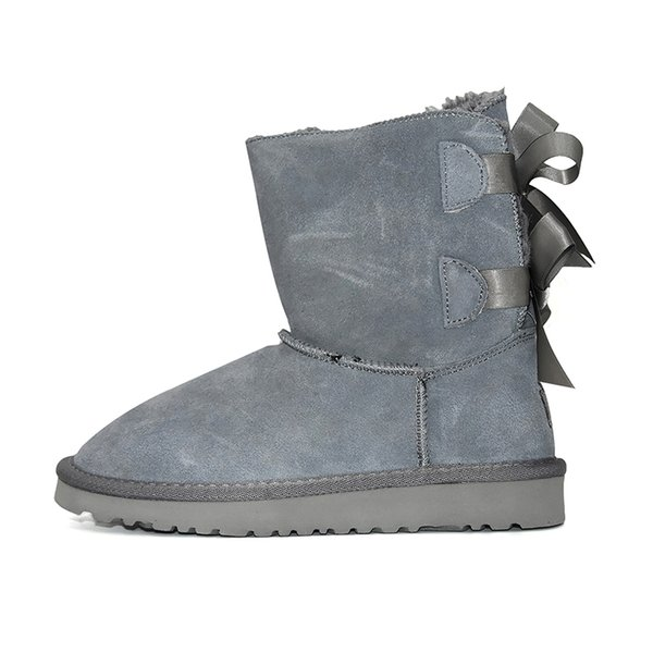 Ankle 2 Bow - Cinza