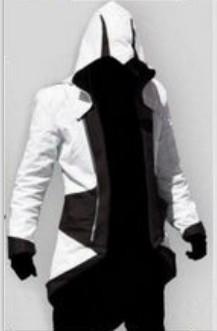 Blanc et noir Assassin # 039; s Creed