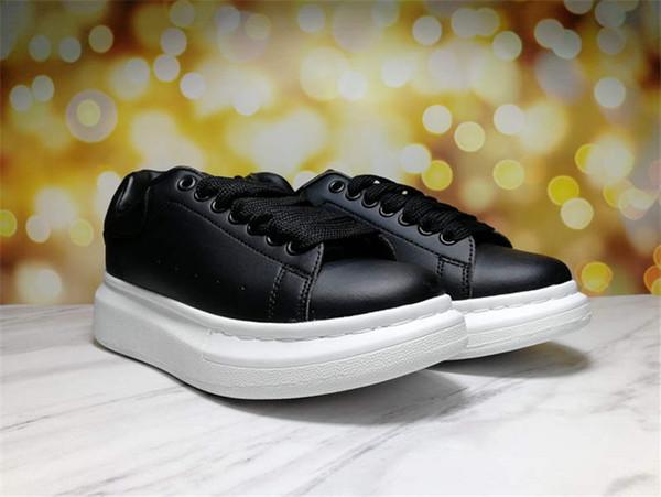 черные туфли белый низ