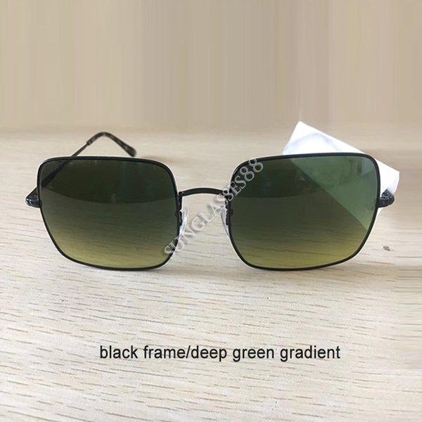 schwarz-tiefgrünen Gradienten