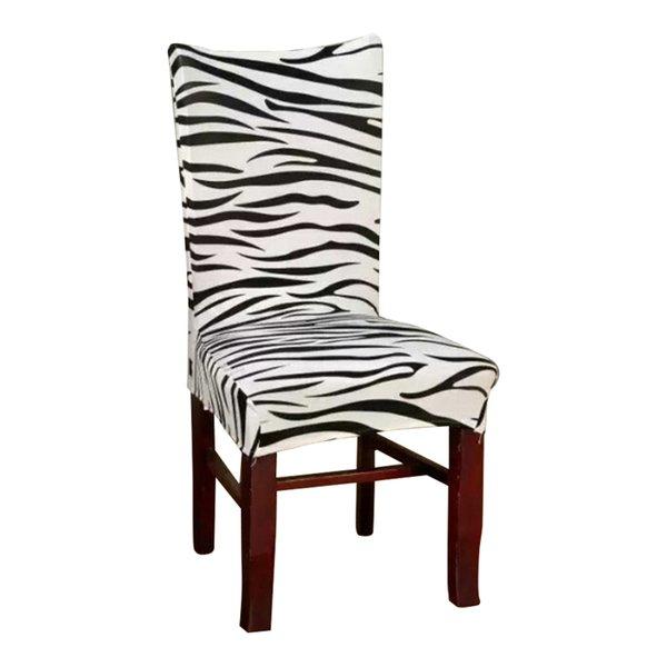 zebra jacquard back height 60cm