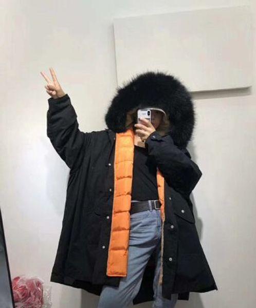 black coat black fur