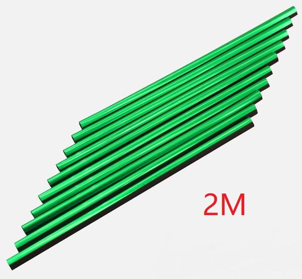 verde, 2 m de largo