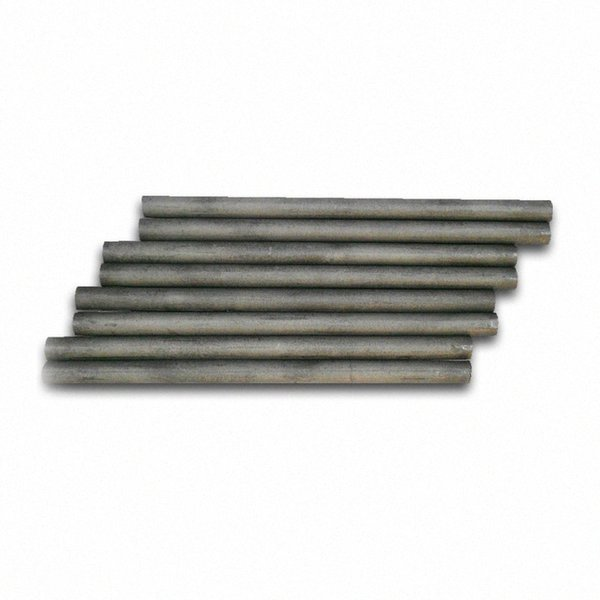 best selling 5Pcs Lot Dia10mm 99.9% Graphite Rods Welding Electrode Cylinder Rod Bars Carbon Rod Machine Tools For Light Industry Metallurgy F9SU#