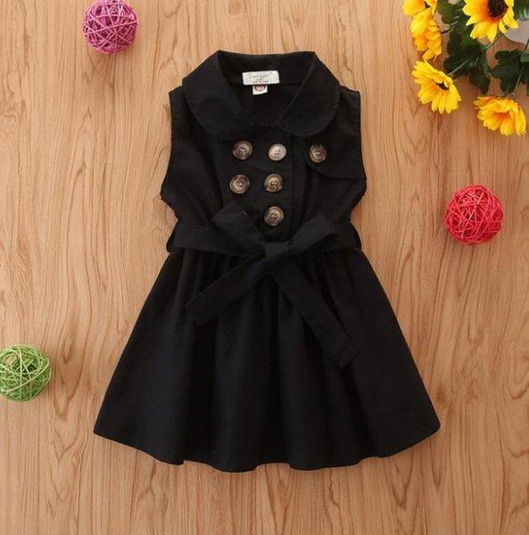 # 2 Двойной Брестед Дети платье