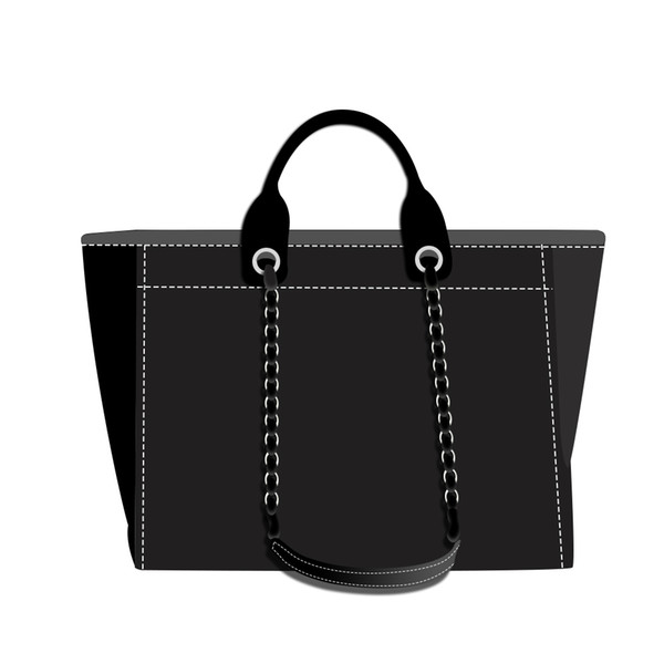 best selling 3A NEW top shopping bag tote bag fashion classic men and women wallet canvas handbag black blue white multicolor pattern woven shopping bag