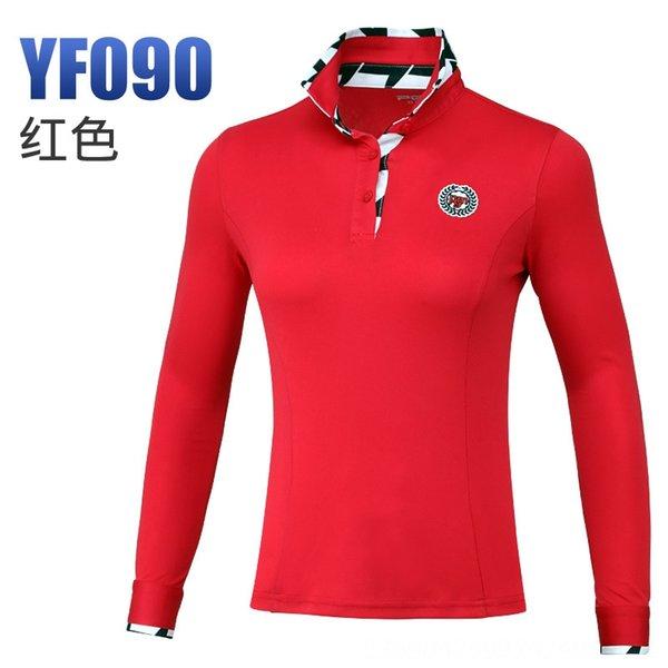 Красная рубашка с длинными рукавами черный и белый P