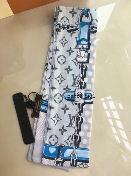 top popular Wholesale price Designer 100% Silk Scarf Fashion Headband classic scarf Women Silk Scraves Top Grade Silk Scarf Hair Bands Designer rtutfdjd 2021