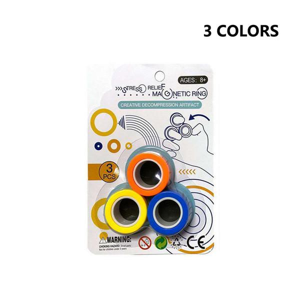 Mélanger 3 couleurs dans un sac