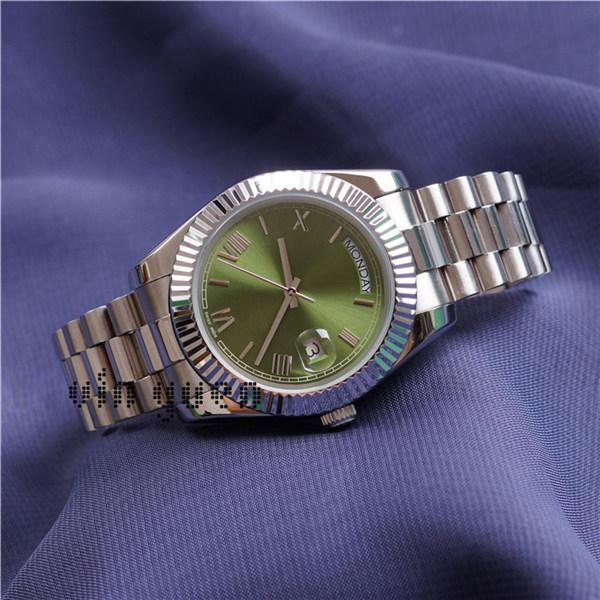 Verde argento