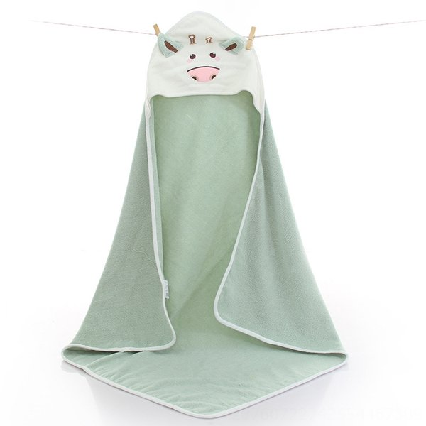 Little Cow Quilt Coral Green-90 x