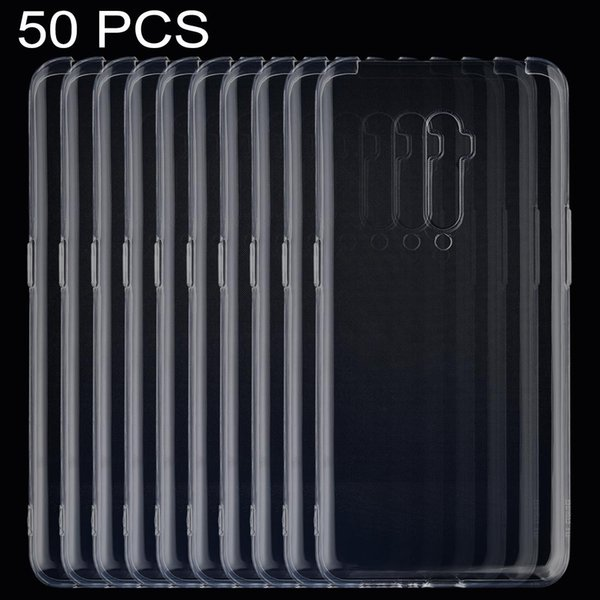 50 PCS de Ultrathin transparent TPU