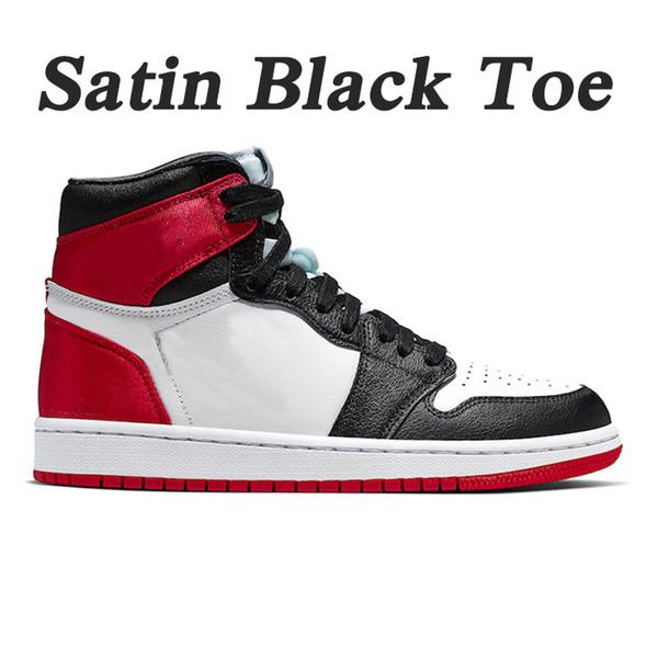 D18 36-46 Satin Black Toe