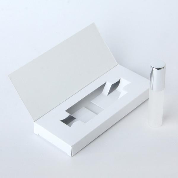 10ML الأبيض مربع الفضة