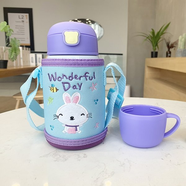 Purple Cartoon Cup Cover 724-1-Different