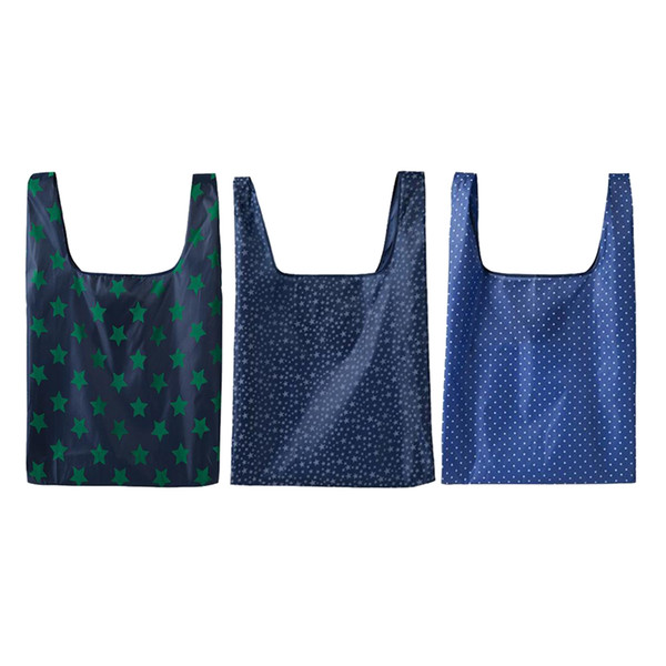 3pcs Reusable Supermarket Grocery Bag Foldable Shopping Tote Bag Oxford Reusable Grocery Bags,oxford grocery tote bag foldable,reusable shopping bags for groceries washable,supermarket shopping bag,reusable grocery tote bags extra large