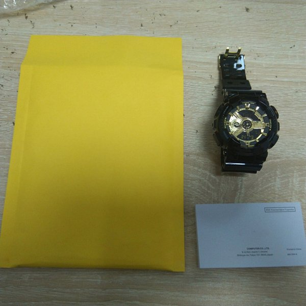 watch with booklet