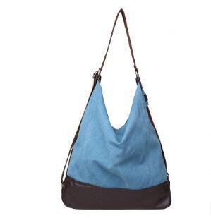 blaue Frauentasche