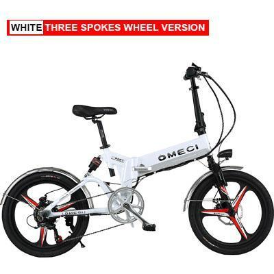 3 Speichenrad Weiß