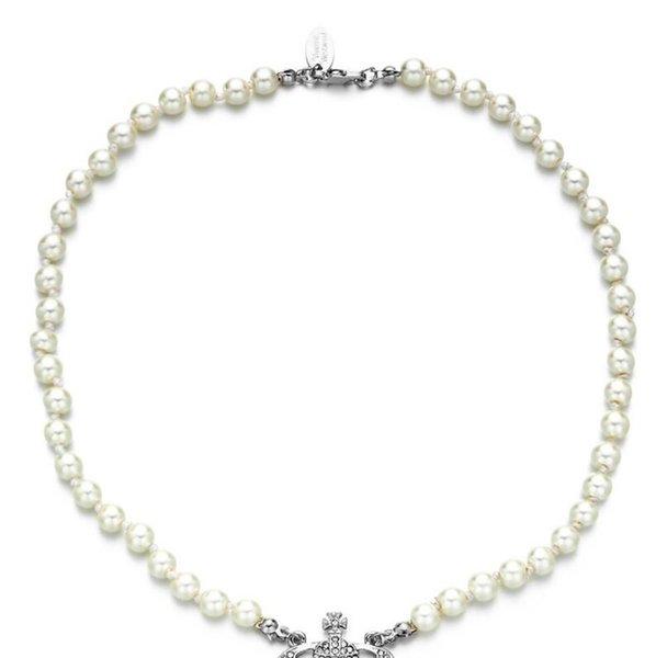 YW-0037-perle argent chaîne