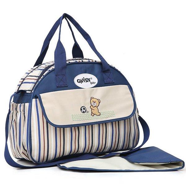 Gran bolsa azul