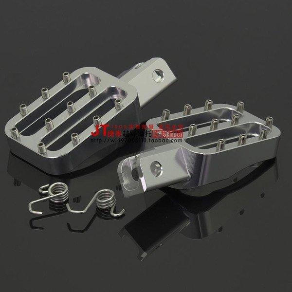 cnc silver pedal
