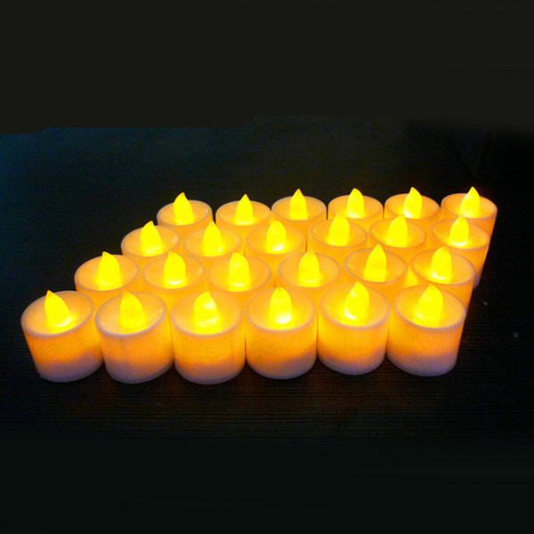 candela bianca luce gialla