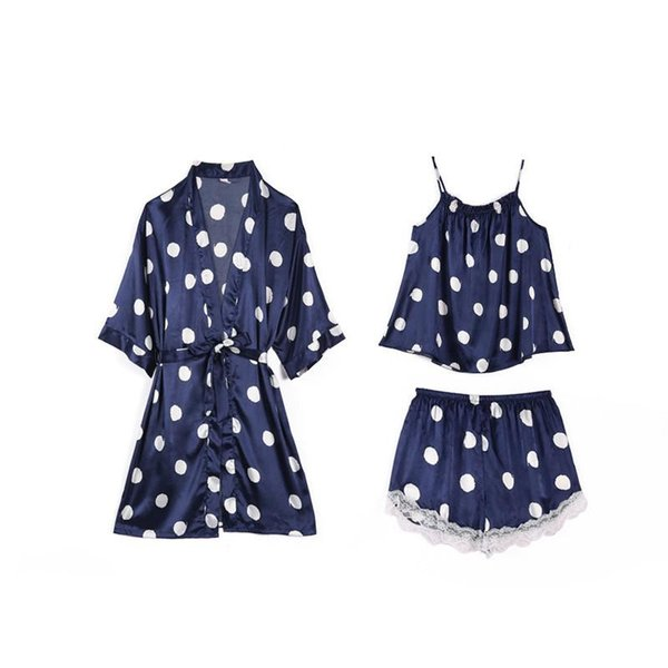 3PCS Set Navy Blue
