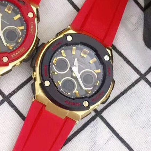 7 красный черный