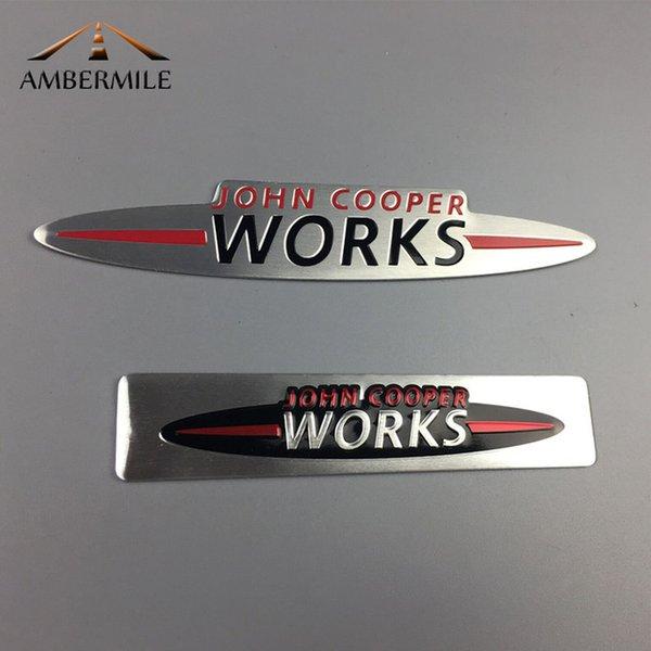 Accessoires extérieurs Ambemile Ambemile Mini JCW Sticker Emblems Stickers de la carrosserie Dec pour Mini Cooper Countryman JCW F56 R56 R60 R53
