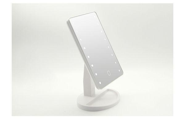16 LED Зеркальный белый