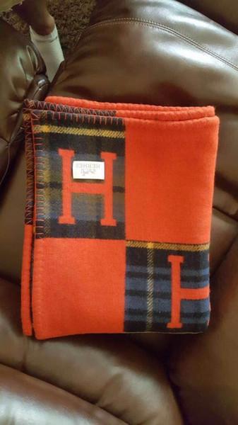 vermelho H Cobertor