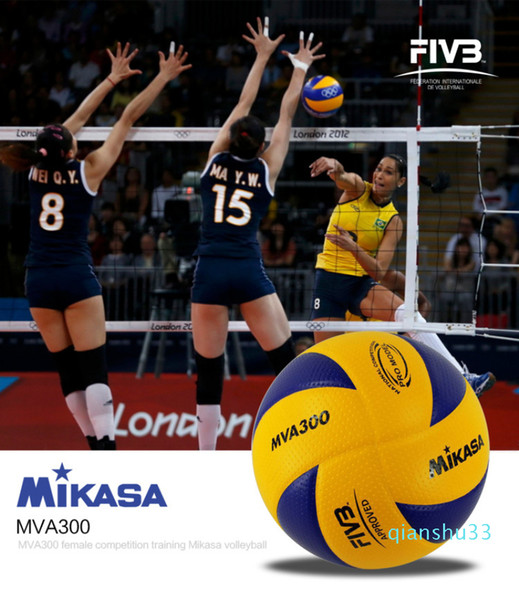 best selling Wholesale-Hot selling MIKASA MVA300 volleyball Professional Indoor volleyball ball Olympic Games Match training volleyball size 5