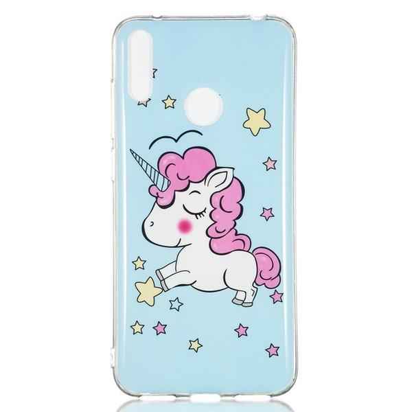Yıldız Unicorn Desen Noctilucent TPU Sof