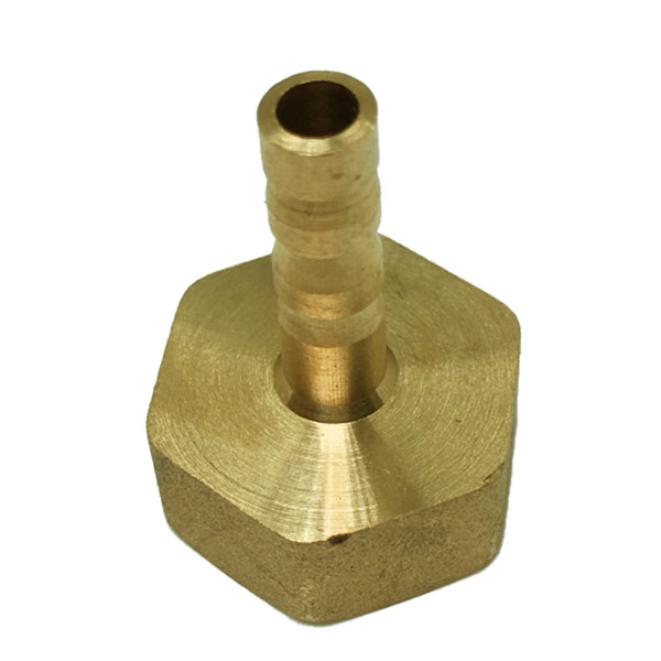 top popular Brass Pipe Fitting DN15 to (6mm- 19mm) - Male Female Thread Connector Joint, Copper Coupler  Adapter - Heavy Duty, 7 Sizes 2021
