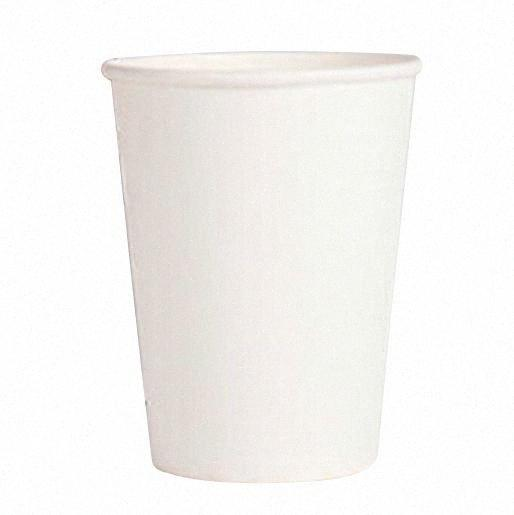 best selling 20 Paper Cups (9oz) - Plain Solid Colours Birthday Party Tableware Catering (white) tJj1#